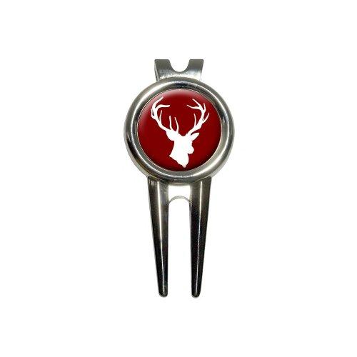 Deer Hunter - Buck Hunting Golf Divot Repair Tool and Ball Marker
