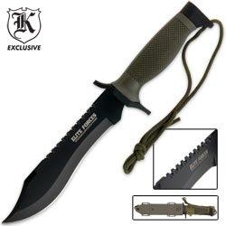 Elite Forces Survival Bowie Knife