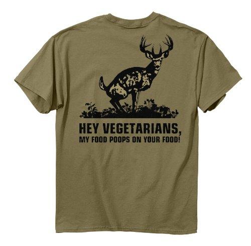 Buck Wear Food Poops Short-Sleeve T-Shirt