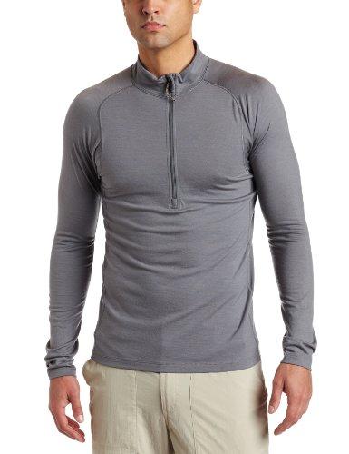 Sitka Men's Merino Core 1 Long Sleeve Zip Tee