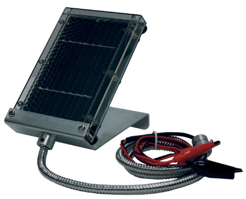 Primos 6 Volt Solar Panel Charger for Game Feeders and Trail Cameras