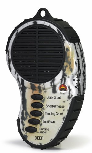 Cass Creek - Ergo Call - Deer Call - CC983 - Handheld Electronic Game Call - Whitetail Call