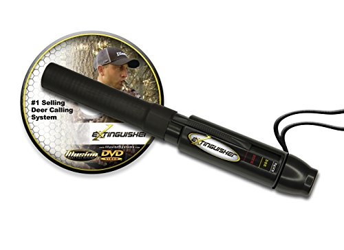 Illusion Extinguisher Deer Call with DVD Instructional (Black)