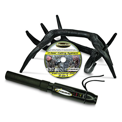 Illusion Game Call Systems Extinguisher/Black Rack Deer Rattling System Combo