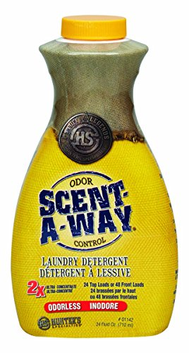 Scent-A-Way 24 oz. Odorless Laundry Detergent by Hunter's Specialties