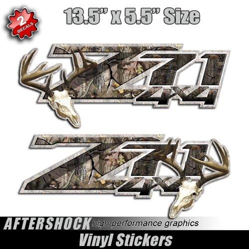 Z71 Deer Hunting 4x4 Silverado Truck Camo Stickers