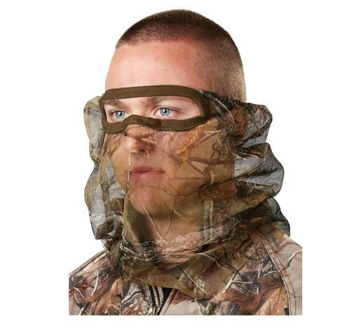 Gander Mountain Guide Series RealTree Extra Camo Facemask Mesh 3/4 Face Mask Deer Turkey Hunting