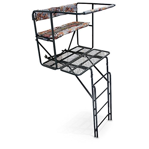 Guide Gear 2-Man 17 1/2' Double-Rail Ladder Tree Stand