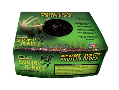 Primos Molasses Stuffed Protein Block - 15-Pound