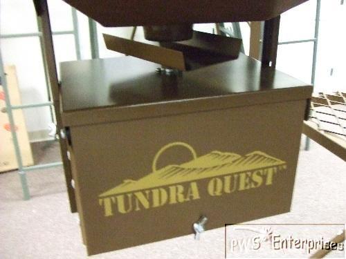 Deer hunting feeder digital timer spinner box & motor