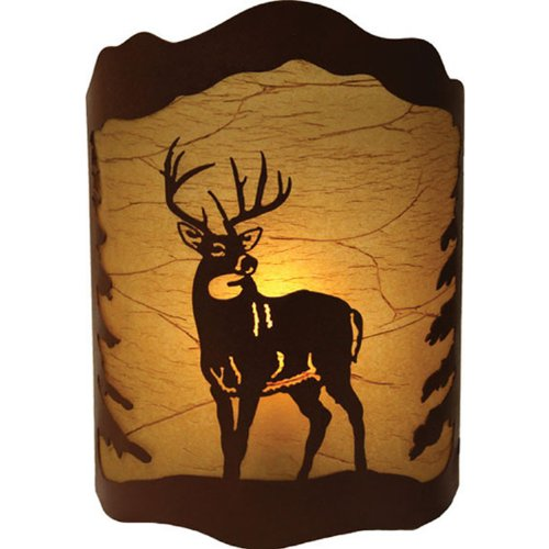 Rivers Edge Products 10 X 13 Deer Wall Light