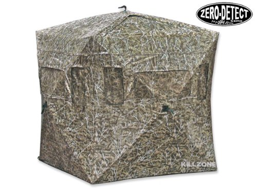 KillZone Hunting Turret XL Hub Style Ground Blind Deer Turkey with Zero Detect Camo