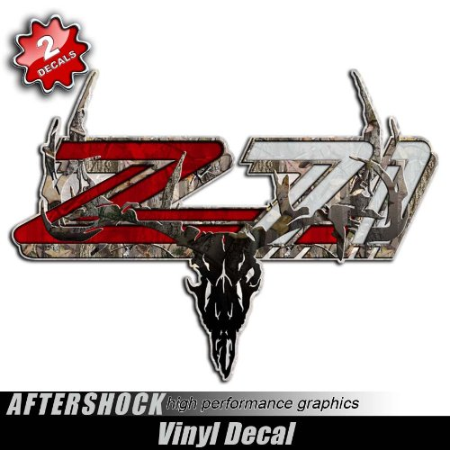 Z71 Camo Deer Skull Hunting Decals bowtech hoyt mathews pse
