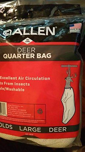 Large Deer Quarter Bag