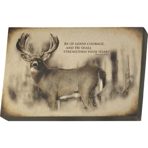 Legendary Whitetails Deer Courage Wall Art