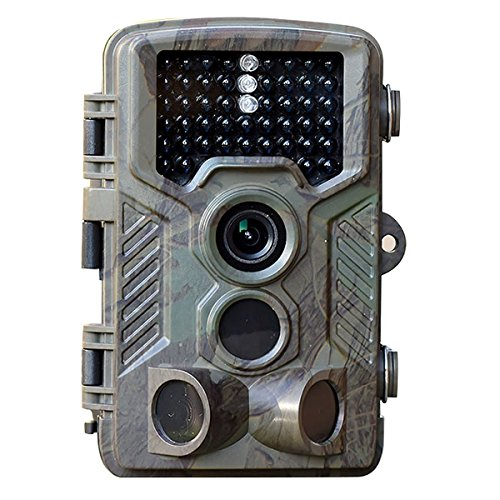 SAVA HD 1080P 12MP Game and Trail camera for Deer Hunting , No Glow Infrared Scouting Camera Night Vision max to 82ft with 46pcs LEDs , 2.4