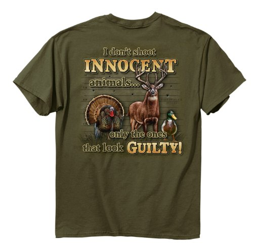 Buck Wear Inc. Innocent Animals Short Sleeve Tee