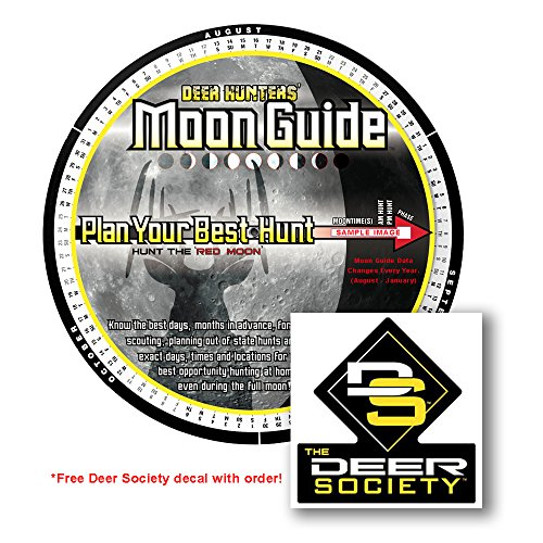 2016 Deer Hunters Moon Guide + FREE Deer Society decal