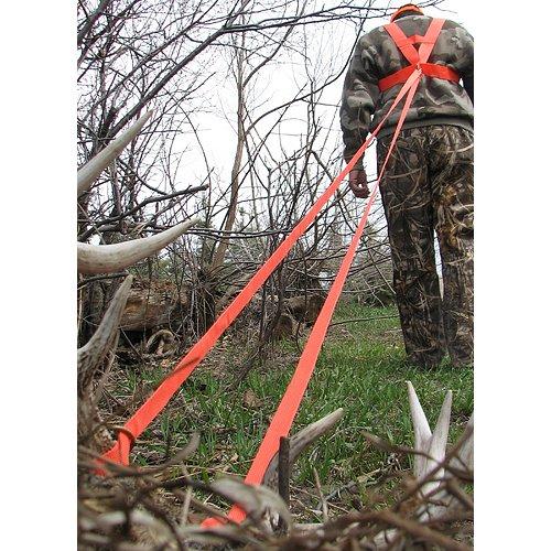 Heavy Hauler Deer Drag Harness Orange