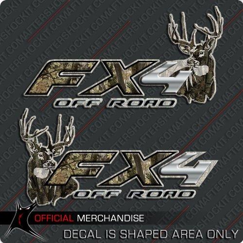 FX4 Truck Deer Hunting Camo Decals Archery Set